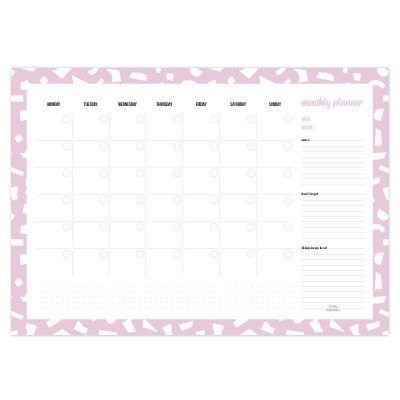 Studio Stationery Monthly planner A3 – Confetti Jaarplanner