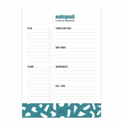 Studio Stationery Notitieblok Creatively organized Notitieblokken