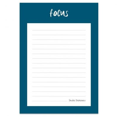 Studio Stationery Notitieblok Focus Collegeblokken
