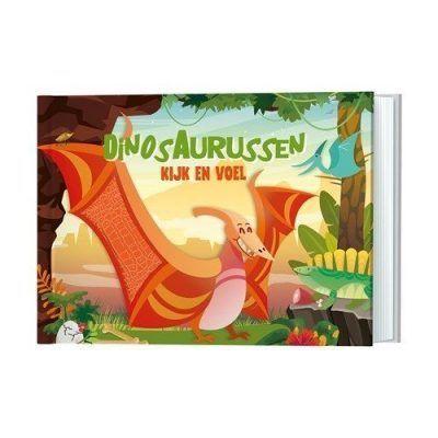 Dinosaurussen Kijk- en voelboek Baby- & Peuterboeken