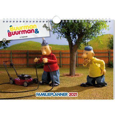Buurman & Buurman Familieplanner 2021 Familie kalender