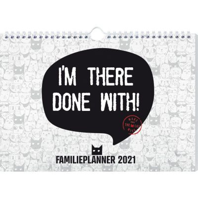 Make That The Cat Wise Familieplanner 2021 Familie kalender