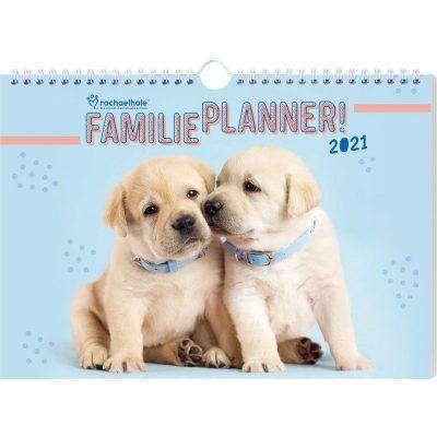 Honden Familieplanner 2021 Dieren kalenders