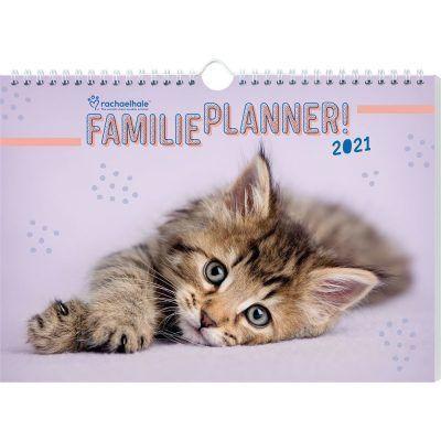Katten Familieplanner 2021 Dieren kalenders