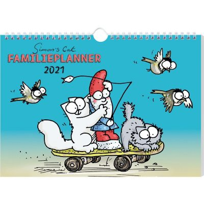 Simon's Cat Familieplanner 2021 Familie kalender