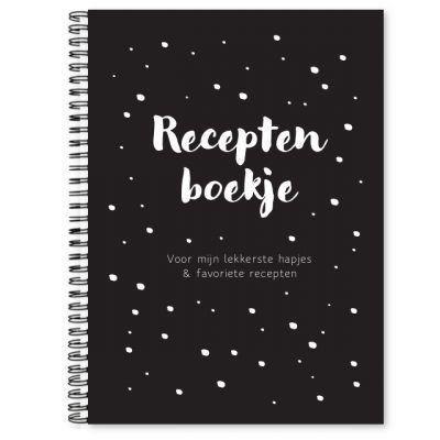 Fyllbooks Receptenboekje – Zwart Cadeauboeken