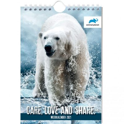 Animal Planet Weekkalender 2021 Dieren kalenders