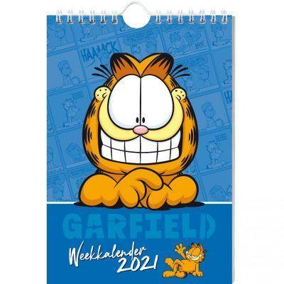Garfield Weekkalender 2021 Jaarkalender