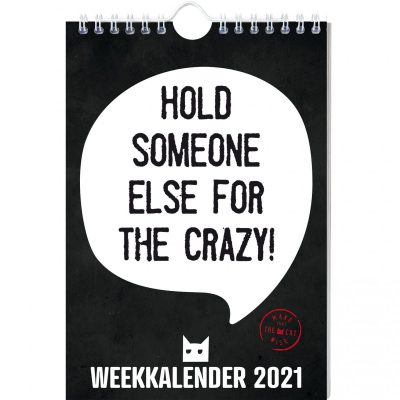 Make That The Cat Wise Weekkalender 2021 Grappige kalender