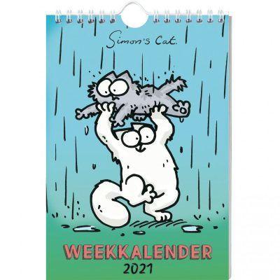 Simon's Cat Weekkalender 2021 Dieren kalenders