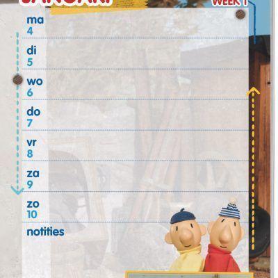 Buurman & Buurman Weekkalender 2021 Jaarkalender