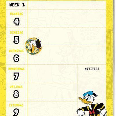 Donald Duck Weekkalender 2021 Jaarkalender