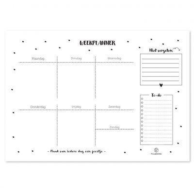 Fyllbooks Weekplanner A4 Jaarplanner