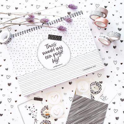 Winkeltjevananne Familieplanner 2021 – A4 Familie kalender