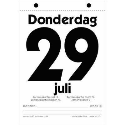Dagscheurkalender 2021 Kalenders voor 2021