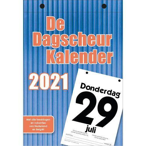 Dagscheurkalender 2021 Kopen Invulboekjes Nl