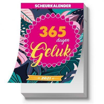 365 dagen geluk Scheurkalender 2021 Kalenders voor 2021