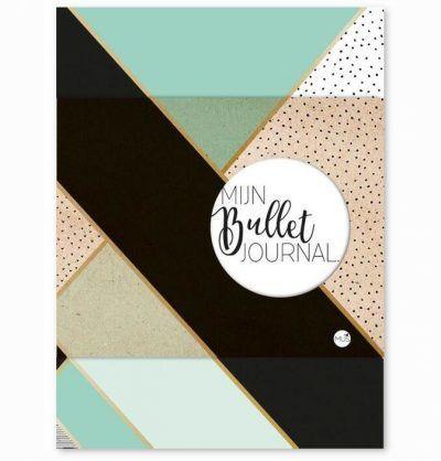 MUS Mijn Bullet Journal – Mint & goud Boeken in de aanbieding