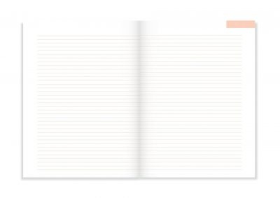 A-Journal Notitieboek – Lila Boeken in de aanbieding
