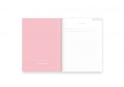 A-Journal Wedding Journal Trouwdagboek