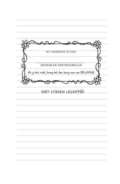 Afblijven! Dit dagboek is van mij Boeken met gratis verzending
