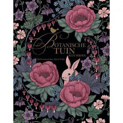 Botanische tuin kleurboek Kleurboek voor volwassenen