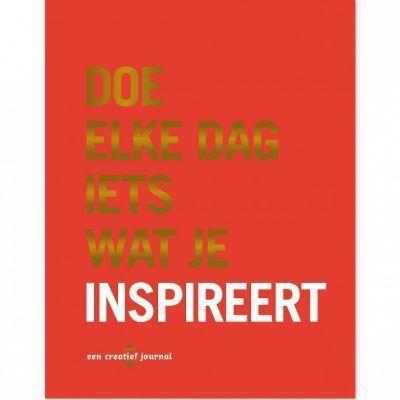 Dagboek Doe elke dag iets wat je inspireert Dagboek voor volwassenen