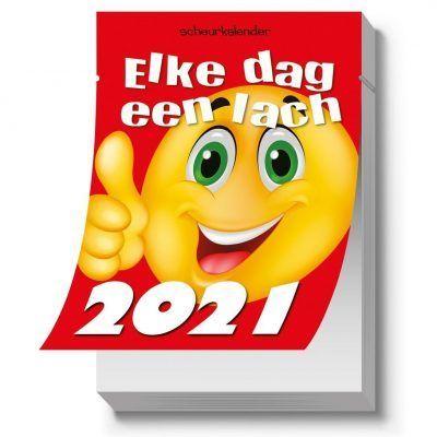 Elke dag een lach Scheurkalender 2021 Grappige kalender
