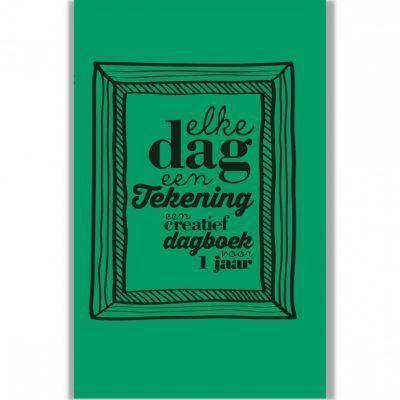 Dagboek Elke dag een tekening Dagboek voor volwassenen