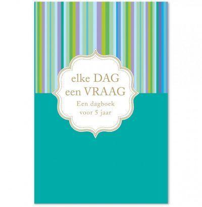 Dagboek Elke dag een vraag Dagboek voor volwassenen