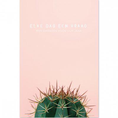 Dagboek Elke dag een vraag – Cactus Dagboek