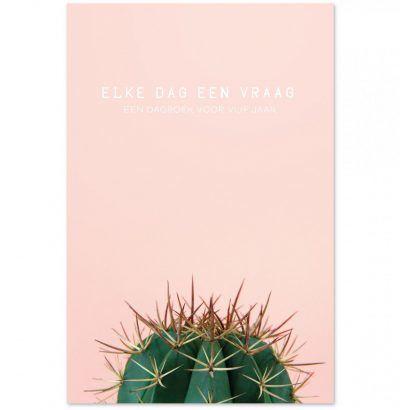 Dagboek Elke dag een vraag – Cactus Dagboek voor volwassenen