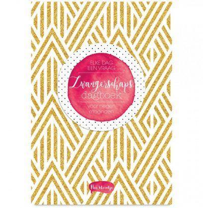 Zwangerschapsdagboek Elke dag een vraag Dagboek voor volwassenen