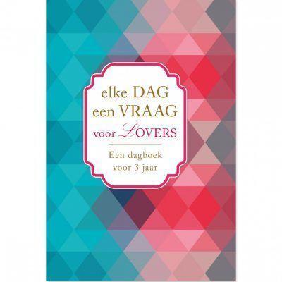 Dagboek Elke dag een vraag voor lovers Cadeauboek voor partner