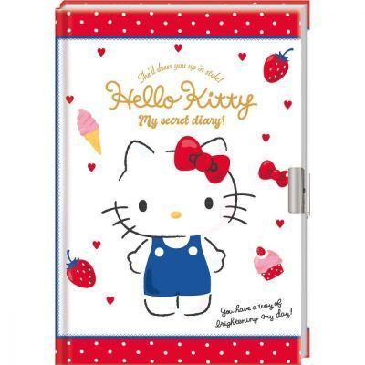Hello Kitty dagboek met slotje Dagboek