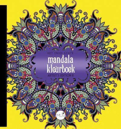 Het enige echte mandala kleurboek Artist Edition II Het enige echte mandala kleurboek