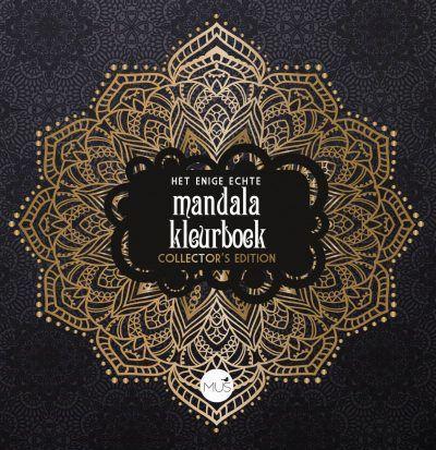 Het enige echte mandala kleurboek Collector's Edition Het enige echte mandala kleurboek