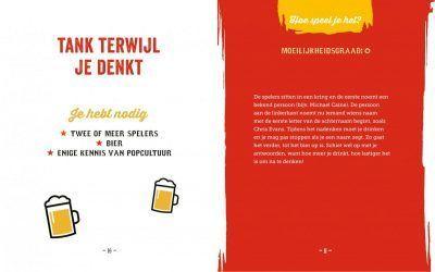 Het grote bierspelletjes handboek Cadeauboeken