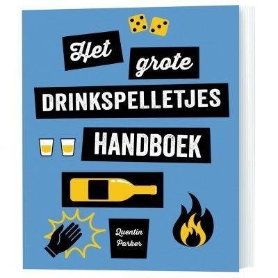 Het grote drinkspelletjes handboek – Spelletjesboek Cadeauboeken