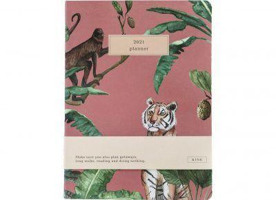 &INK Jaaragenda 2021 – Jungle roze Jaaragenda