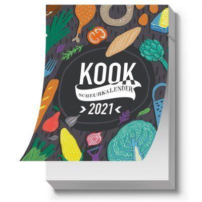 Kook Scheurkalender 2021 Kalenders voor 2021