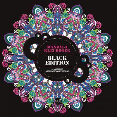 Mandala kleurboek Black Edition Kleurboek voor volwassenen