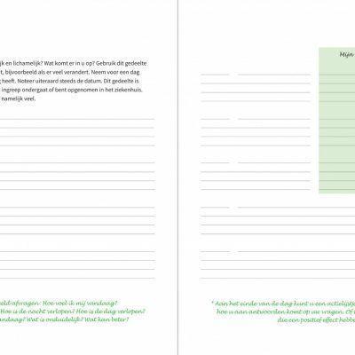 Medisch dagboek Dagboek voor volwassenen