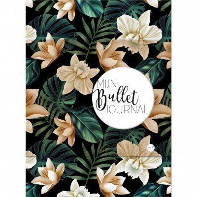 MUS Mijn Bullet Journal – Black flower Bullet Journal