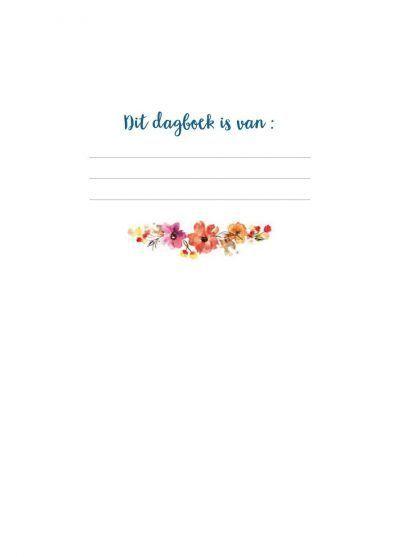 Mijn dagboek – Watercolour Dagboek voor volwassenen