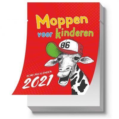 Moppen voor kinderen Scheurkalender 2021 Grappige kalender