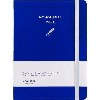 My Journal Jaaragenda 2021 – Indigo blauw Agenda's in de aanbieding