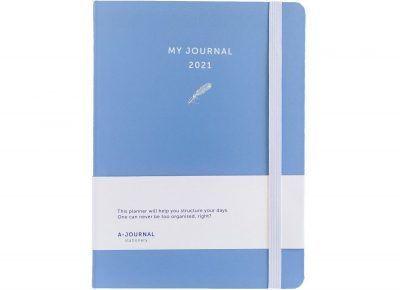 My Journal Jaaragenda 2021 – Lavendel blauw Jaaragenda