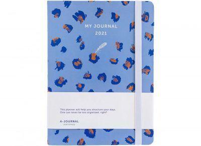 My Journal Jaaragenda 2021 – Luipaard print Jaaragenda