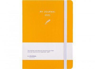 My Journal Jaaragenda 2021 – Oranje Agenda's in de aanbieding